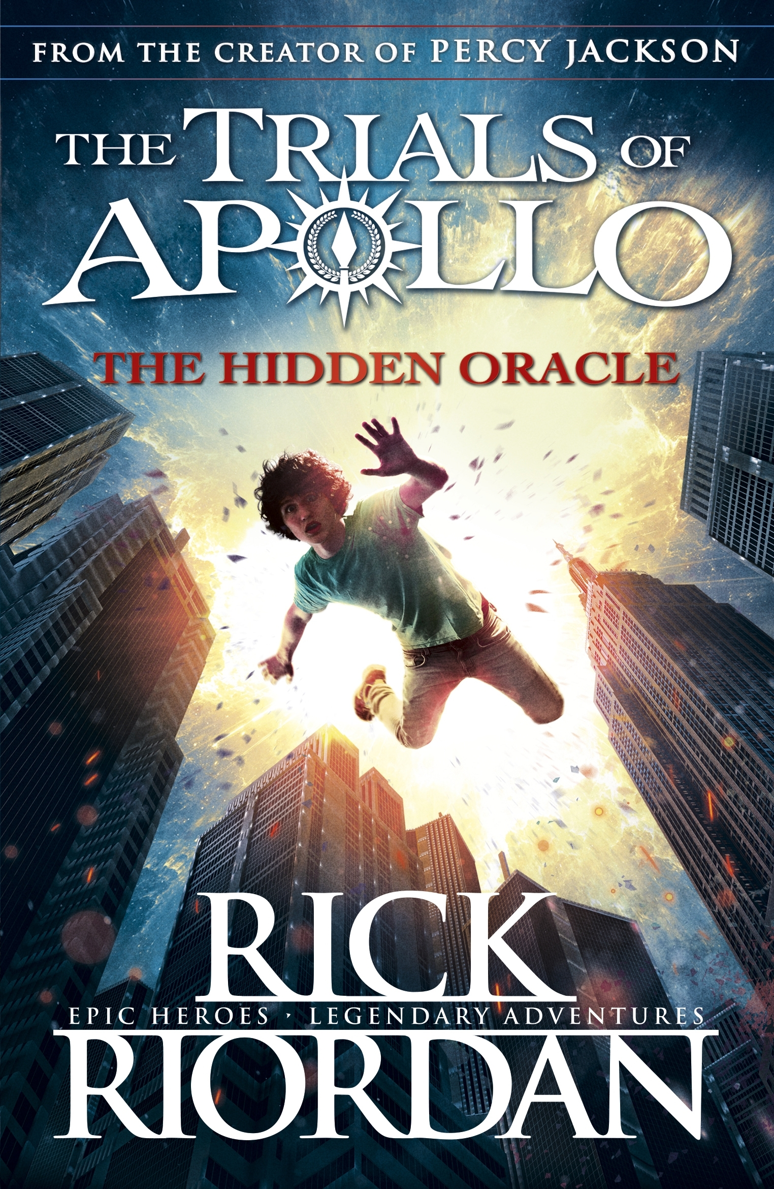 The Hidden Oracle: The Trials Of Apollo